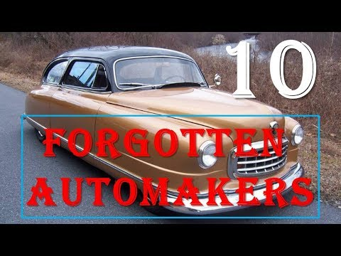 10 Forgotten Automakers That No One Remembers Anymore.