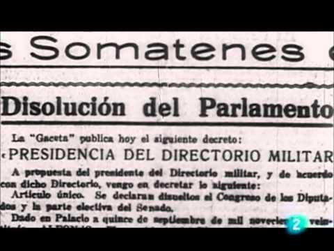 Reinado de Alfonso XIII (1902-1931): guerra de Marruecos y dictadura de Primo de Rivera