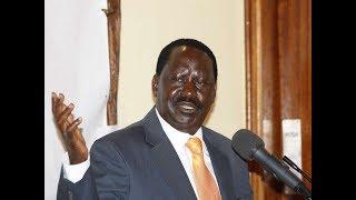 """It's mysterious,"" Raila Odinga statement after bromance with Uhuru at prayer breakfast"