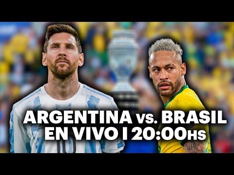 ARGENTINA VS. BRASIL ⚽️ VIVILO EN TyC SPORTS | Copa América 2021