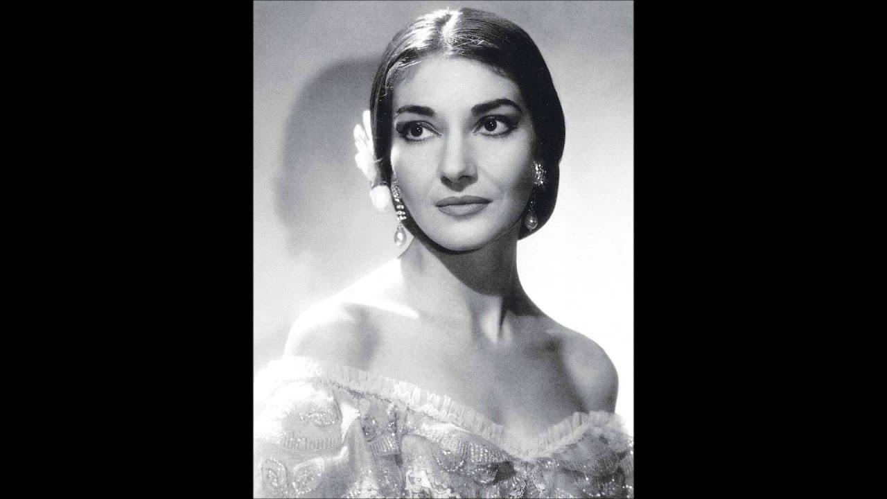 Maria Callas Bellini Norma Casta Diva Youtube