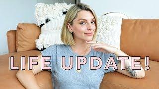 LIFE UPDATE - Reggie, My Apartment, Yoga & More!