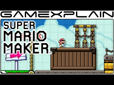 Super Mario Maker - All Game Styles & Level Themes + Creator Music (Airships, Ghost Houses, & more!)