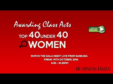 LIVE: Top 40 Under 40 Women Gala Night