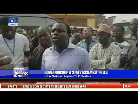 State Elections: Amuwo-Odofin LGA Chairman Appeals To Protesting Ad Hoc Staff
