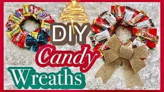 How to CANDY WREATH | DIY Candy Bouquet UNDER $5 | Edible Gift Ideas