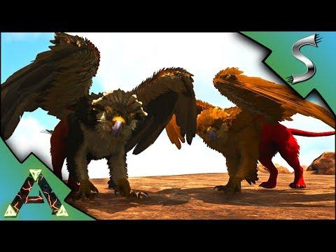 CRAZY COLOURED GRIFFINS! GRIFFIN TAMING! - Ark: RAGNAROK [DLC Gameplay E29]