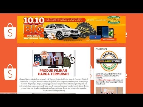 Penipuan Shopee 2019 Hadiah Mobil Dan Uang Tunai Puluhan Juta