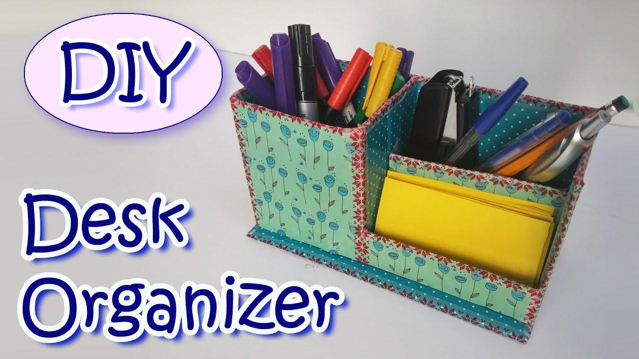 Wonderful Diy Desk Organizer How To Make A In Design