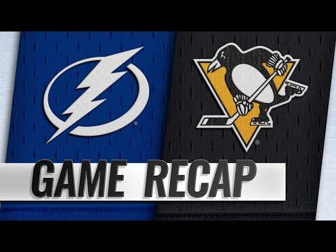 Point's hat trick lifts Lightning past Penguins