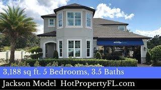 New Model Home Tour  3188 sq ft  414990 Base Price  Oakmont Reserve Longwood FL  Meritage