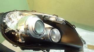 Ремонт фары Volvo S60 без распила корпуса. Восстановление герметичности фары  Потела фара.