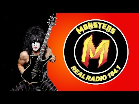 Monsters - What a gas! Russ interviews Paul Stanley of Kiss!