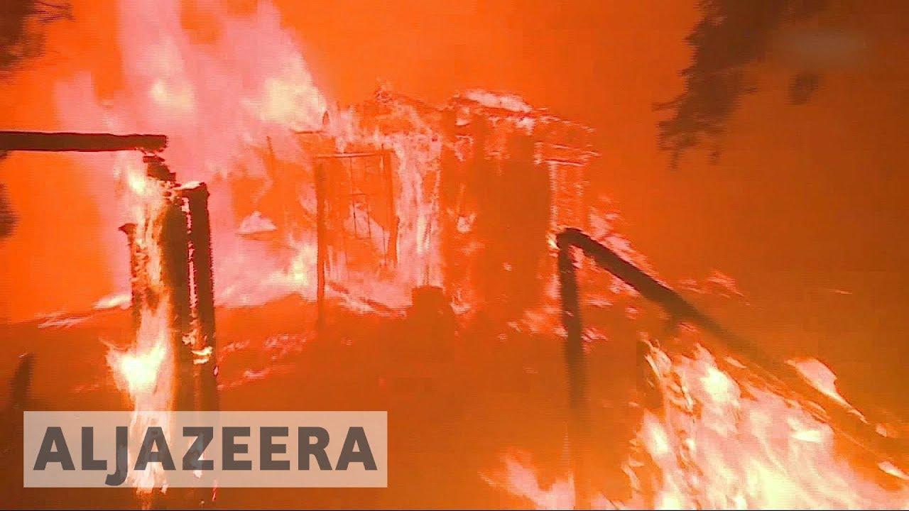 Trump declares emergency as LA fires spread