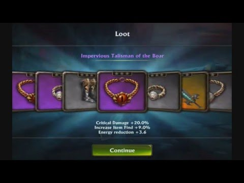 Eternity Warriors 3 How To Kill Legendary Hellboy Endboss Ivar Mountains Warrior Chad Epic