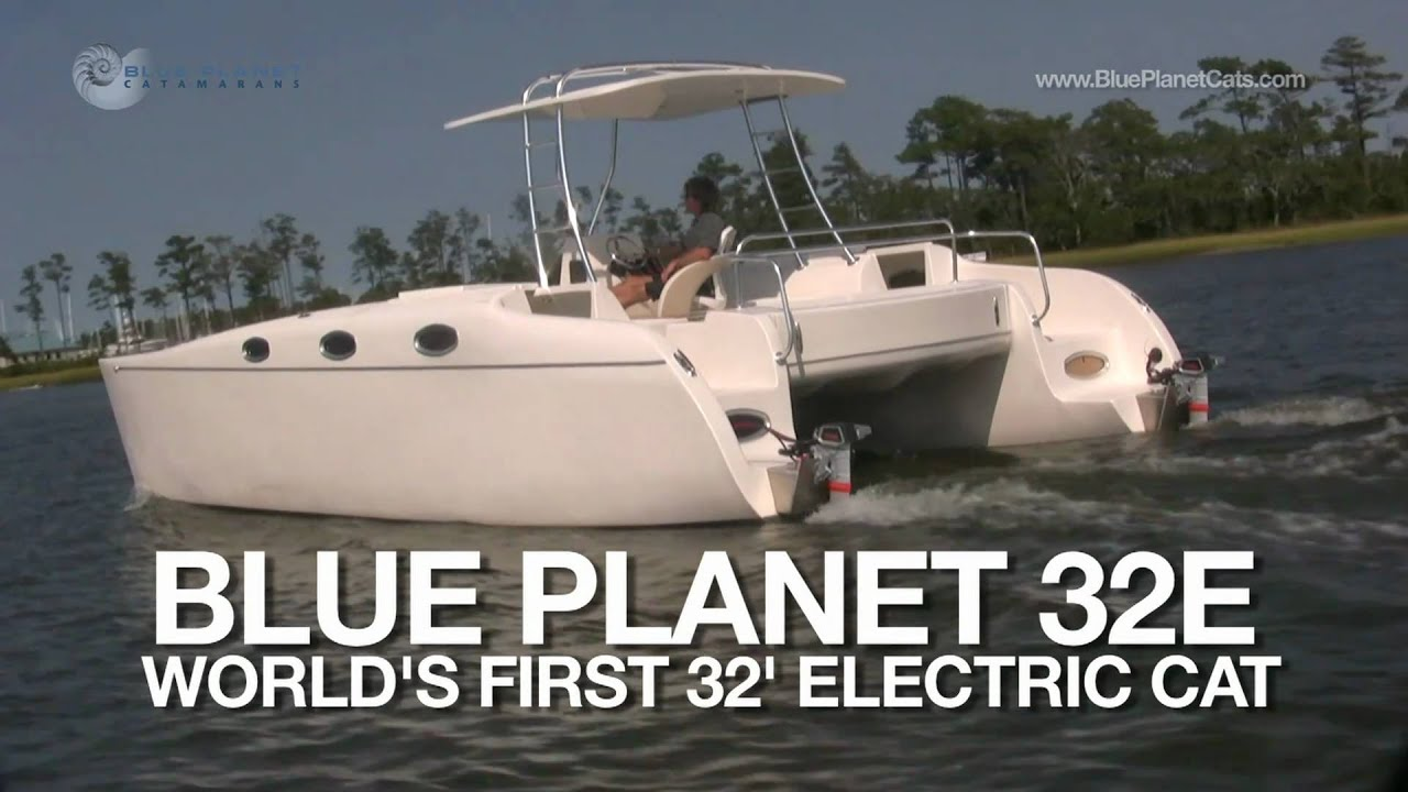 New Electric Boat 32 Foot Torqeedo Powered Electric