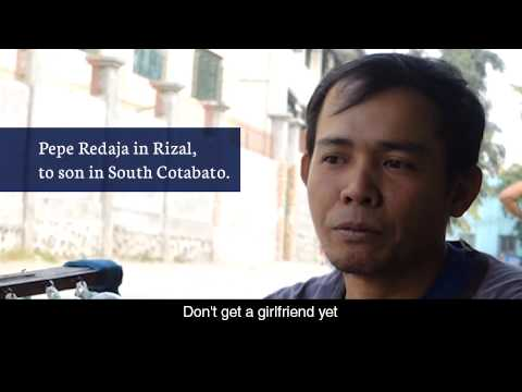 Care message - To son in South Cotabato