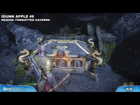 God of War - All Idunn Apple / Health Upgrades Locations Guide (Idunn's Orchard Trophy)