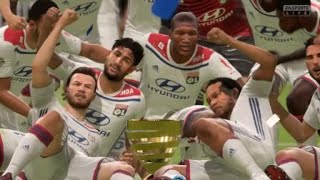 FIFA 19 Finale coupe de la Ligue Guingamp Lyon