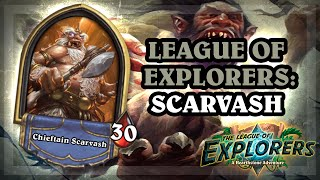 Chieftain Scarvash [Hearthstone League of Explorers: Uldaman!]