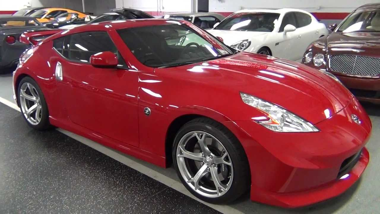 2012 nissan 370z nismo solid red - youtube