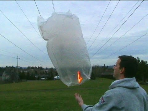 sky lantern hot air balloon youtube. Black Bedroom Furniture Sets. Home Design Ideas