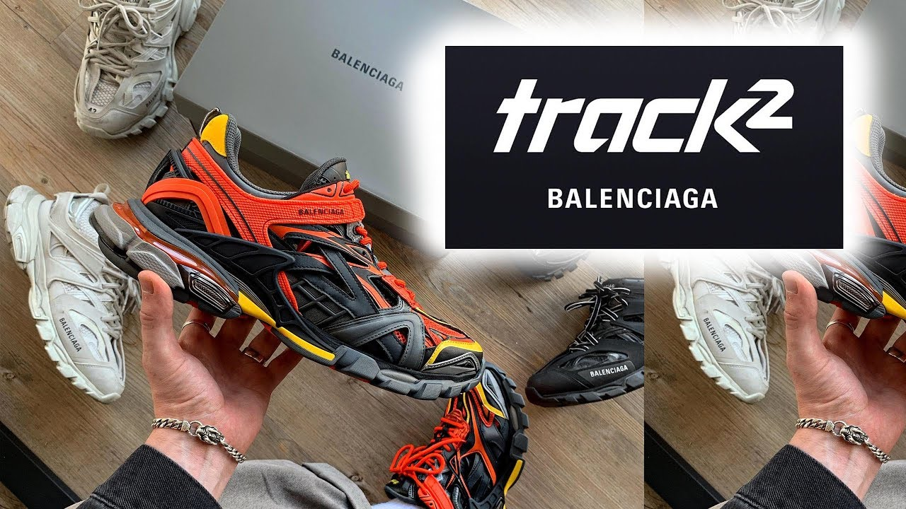 Balenciaga Track 2 Unboxing Review Youtube