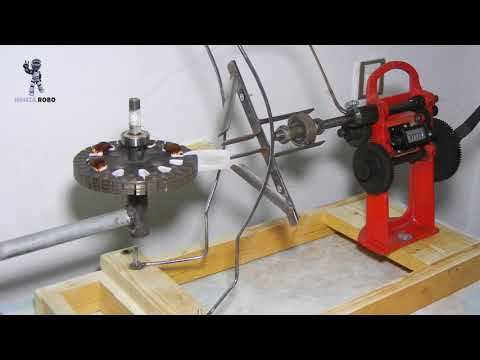 How To Make Ceiling Fan Coil Winding Machine, Home Made Winding Machine ( Part # 1)