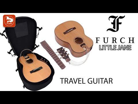 Маленькая электроакустическая гитара Furch Little Jane (Фингерстайл на тревел-гитаре LJ10-CM)