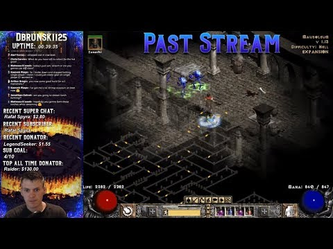 Diablo 2 -Fire Sorc plus MF 05/02/2018