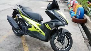 Новый Скутер Yamaha Aerox 155 2017