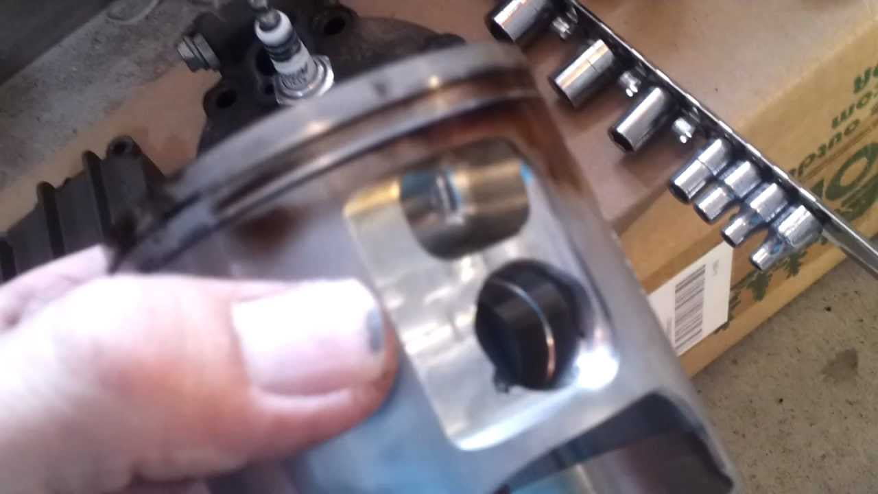 top and bottom end inspection gasgas ec 300 2007 - youtube
