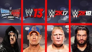 Highest Rated Wrestlers Ever In WWE Games (Smackdown HCTP - WWE 2K18)
