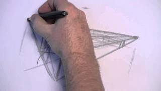 How to Draw a Boat from a Two-Point Perspective with Glen Kennedy - Part 1 of 5