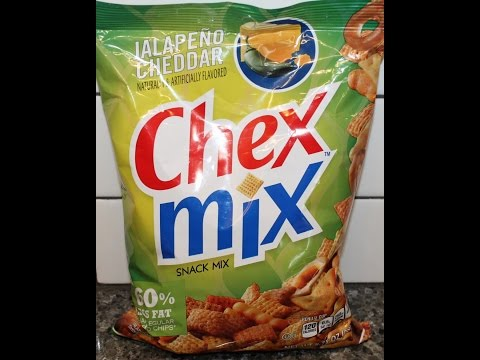 Chex Mix Snack Mix: Jalapeno Cheddar Review