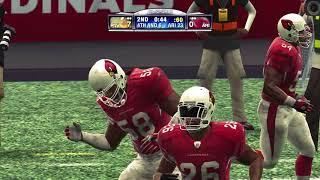 Madden NFL 09 PS3 Pittsburgh Steelers vs Arizona Cardinals