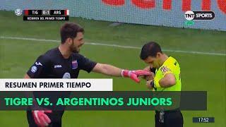 Resumen primer Tiempo: Tigre vs Argentinos Juniors | Fecha 12 - Superliga Argentina 2018/2019