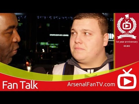 Arsenal 1 Newcastle United 0 - Cheeky Geordie Banters With Robbie - ArsenalFanTV.com