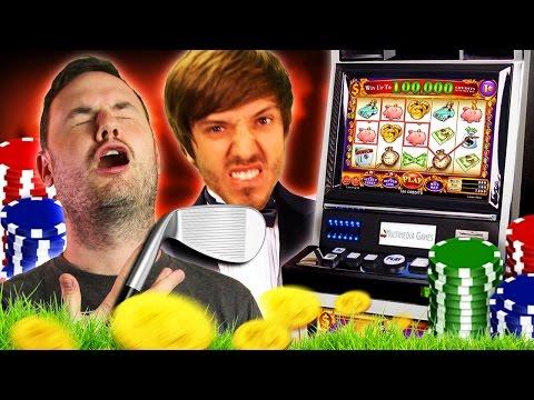 A GOLF N GAMBLE WITH FRIENDS? | Tower Unite Mini Golf