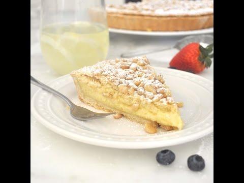 Italian Grandma's Cake - Torta della Nonna by Cooking with Manuela