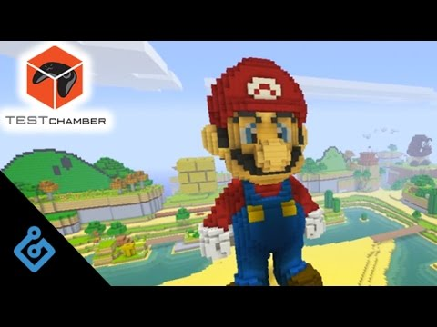 Test Chamber - The Coolest (And Most Disgusting) Secrets When Mario Meets Minecraft