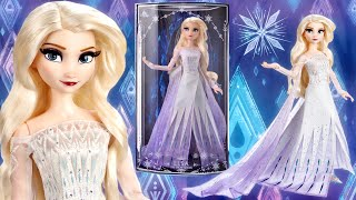 Frozen 2: Snow Queen Elsa Limited Edition Doll (Out of Box Review) Disney Store
