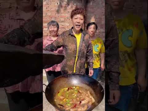 # Кулинария # Еда # Короткие_видео # Еда_Шоу Рецепт приготовления   Продовольственная выставка 2021