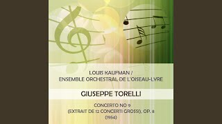 Concerto No 9 (extrait de 12 Concerti grossi) , Op. 8: Largo - allegro - largo (3)