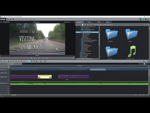 MAGIX Movie Edit Pro 2016 Quick Overview Review