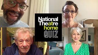 National Theatre At Home Quiz 1 | Ian Mckellen, Helen Mirren, Lenny Henry + Lesley Manville