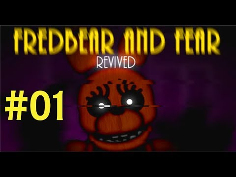 PLAY THE AUDIO! | FREDBEAR AND FEAR (REVIVED) #01 | LET'S PLAY FNAF FANGAME | FACECAM
