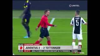 Champions League: Juventus 2-2 Tottenham