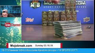2017-18 Panini NBA Select 12 Box Case Break PYT #10 - 03.18.18
