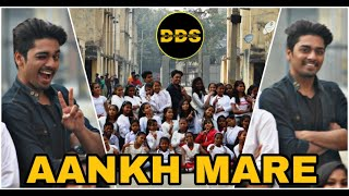 SIMMBA - Aankh Mare Dance Video || Choreography by Shubham Singh || Dance Disaster School (DDS)